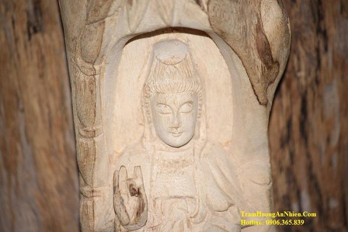 Tượng Phật Trầm Hương - TP.01